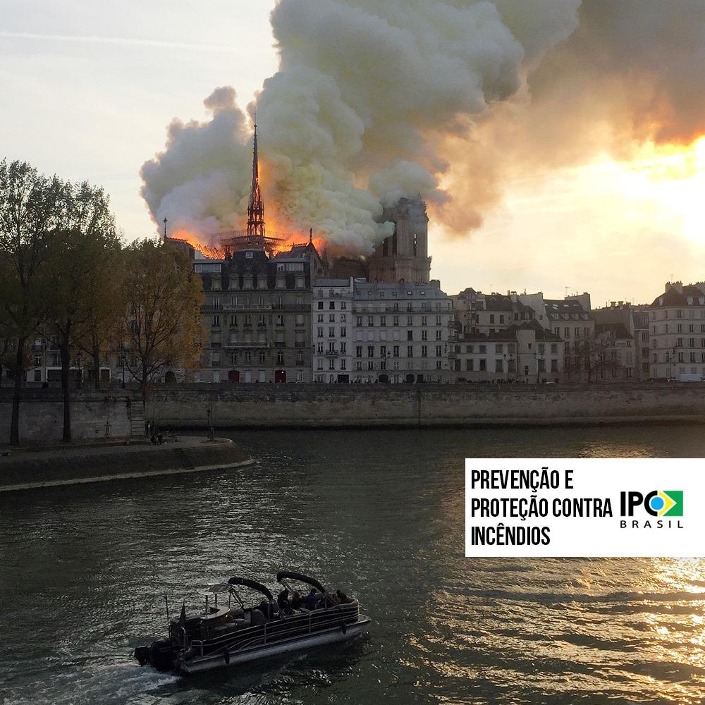 A Catedral de Notre-Dame e o Sistema de Prevenção e Proteção contra Incêndio